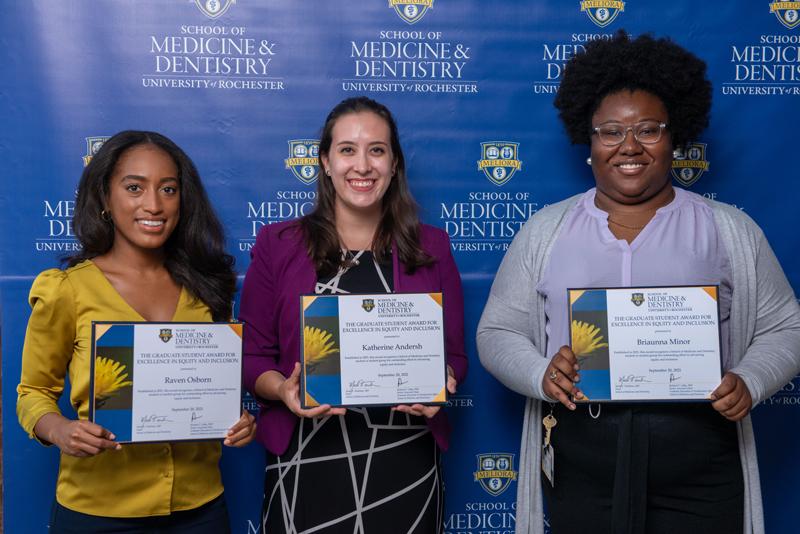 URMC Diversity Award winners - 2021
