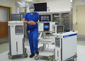 Highland is first in area to use Olympus Soltive™ Laser System.